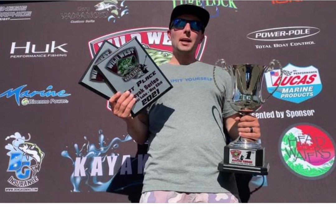 Cox claims 100 inches at Clear Lake presented by Headwaters and Crescent Kayaks
