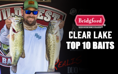Top 10 Baits – Clear Lake Pro/Am
